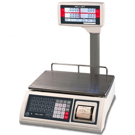 Balance poids prix avec ticket — Balance Milliot