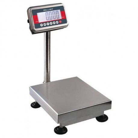 Balance Tout Inox Jusqu'à 150 Kg — Balance Milliot