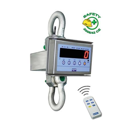 Dynamomètre tout inox, portée max. 55 t, précision depuis 5 kg — Balance Milliot