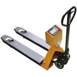 Transpalette peseur TPS-II avec imprimante — Balance Milliot