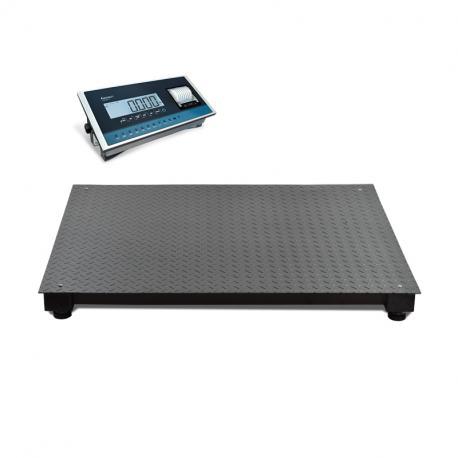 Plate-forme de pesage industriel homologuée avec imprimante — Balance Milliot