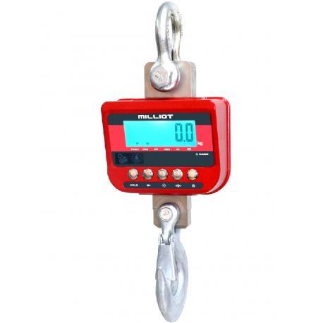 Peson aluminium étanche avec télécommande jusqu'à 12 tonnes — Balance Milliot