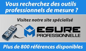 Visitez notre site d'outils professionnels de mesure