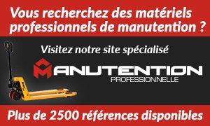 Visitez notre site de matériels professionnels de manutention