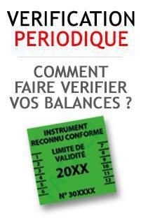 Balance Milliot - Vérification périodique